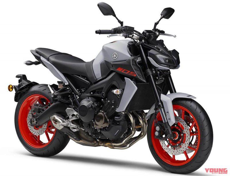 Yamaha MT-09 SP ABS สี Black Metallic X