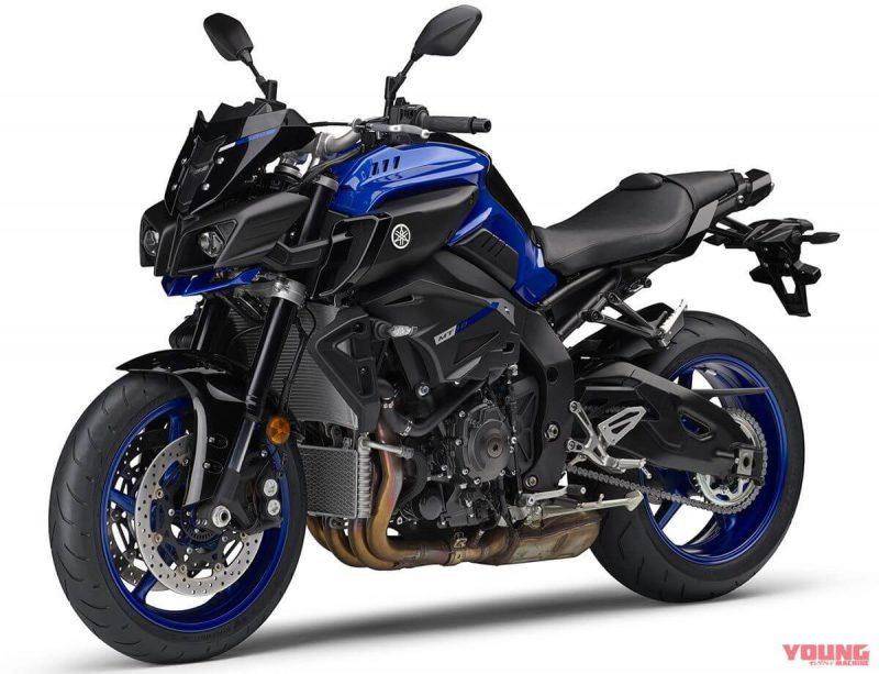 อัพเดทสีใหม่ของ Yamaha MT -10 ABS 2019 สี Deep Purplish Blue Metallic C
