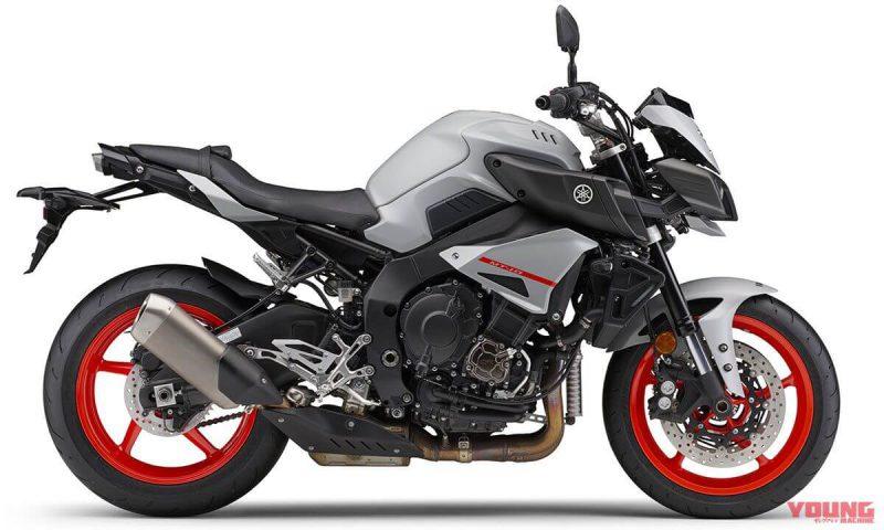 Yamaha MT-10 ABS 2019 สี Matt Light Grey Metallic 4