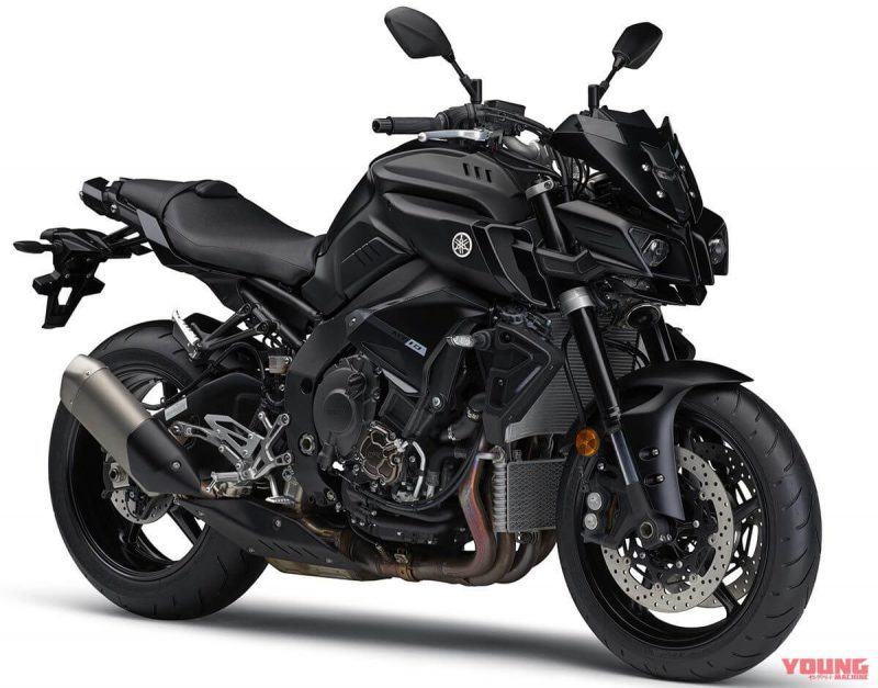 Yamaha MT-10 ABS 2019 สี Matte Dark Grey Metallic 6