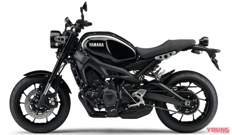 Yamaha XSR900 2019 สี Dark Brown Metallic Black