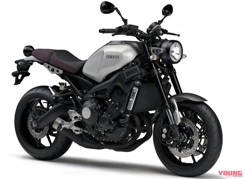 Yamaha XSR900 2019 สี Matte Gray Metallic 3