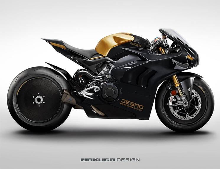 เผยภาพ Ducati Panigale V4 R Heritage จากสำนักแต่งชื่อดัง