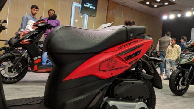 เอพริลเลีย สตอร์ม 125 ลวดลายสีแดง