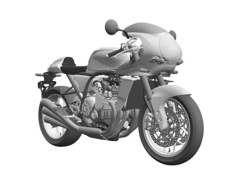 ภาพสิทธิบัตร All New Honda CBX