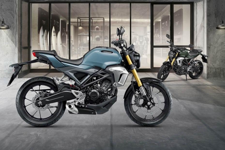 สิทธิบัตรใหม่สำหรับ Honda CB150R StreetSter และ Exmotion