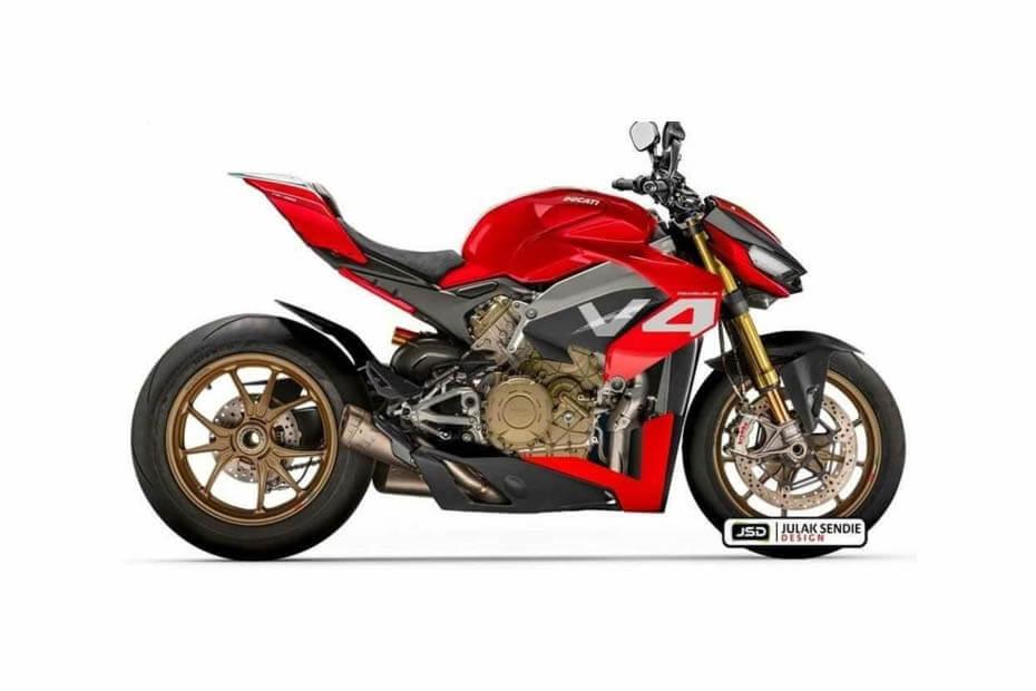 อัพเดทข่าว Ducati StreetFighter V4 คาดอาจเปิดตัวปลายปี 2019