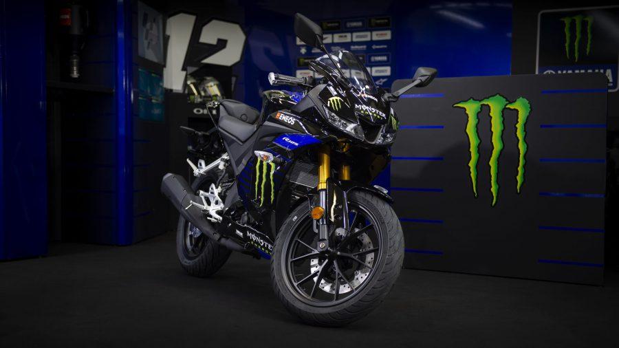 YZF-R125 ลวดลาย Monster MotoGP
