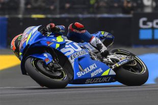 Alex Rins เผยปัญหา หลังคว้าอันดับที่ 10