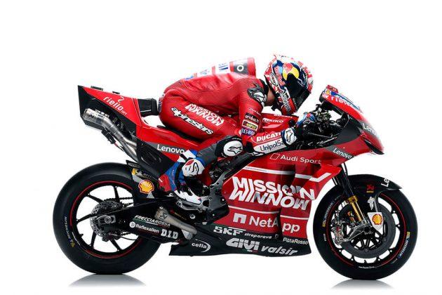 Ducati ไม่ใช้โลโก้ Mission Winnow อย่างเป็นทางการ