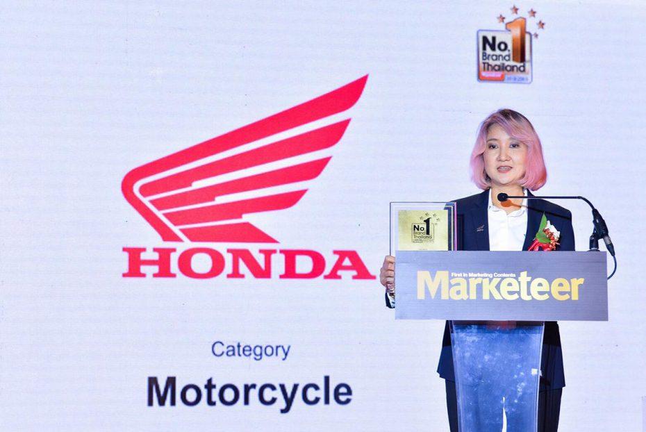 AP Honda คว้ารางวัล Marketeer No.1 Brand Thailand 2019 ต่อเนื่องเป็นปีที่ 8