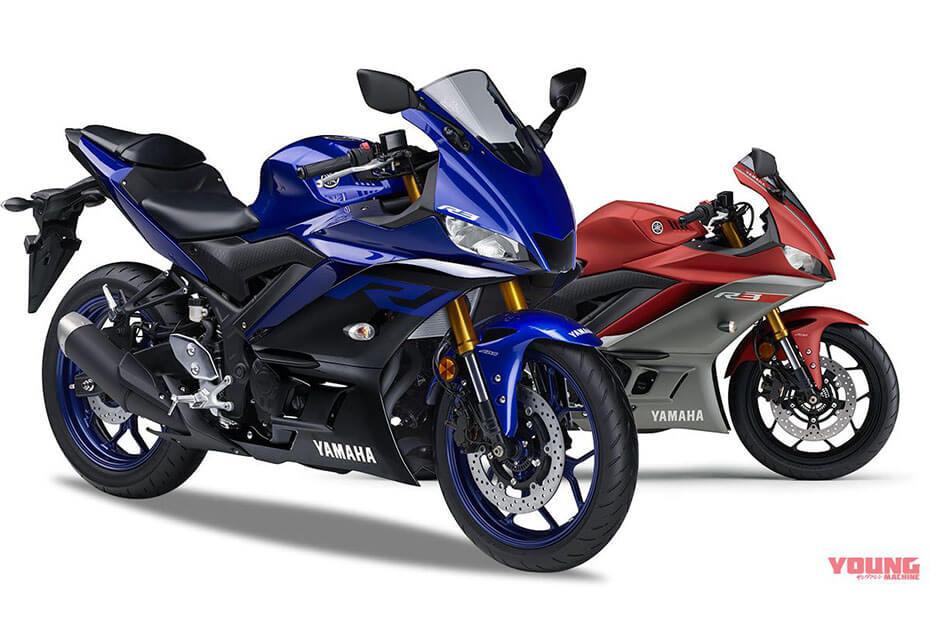 เพิ่มสีใหม่ Yamaha YZF-R3 2019