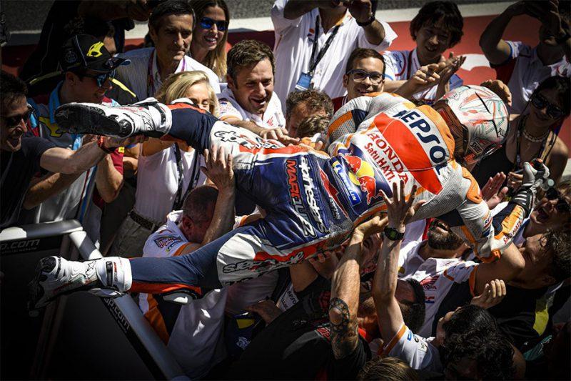 มาร์ค มาเกซ คว้าที่ 1 สนามที่ 7 คาตาลัน การแข่งขัน MotoGP2019