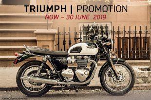 อัพเดทโปรโมชั่น Triumph ประจำเดือนมิถุนายน