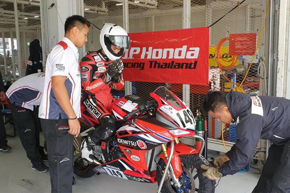AP Honda ยกทัพสู้ศึกบิดทรหด ในรายการ JP250 4Hrs Endurance Race 2019