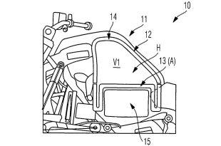 BMW ยื่นขอรับสิทธิบัตร การออกแบบรถจักรยานยนต์ไฮบริด