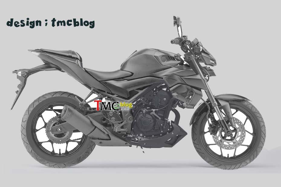อัพเดท New Yamaha MT-25 โฉมใหม่ คาดใช้ไฟหน้าและโช๊คเอามาจาก MT-15