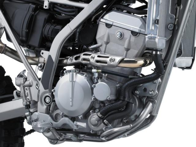 เครื่องยนต์ด้านขวา Kawasaki KLX300R