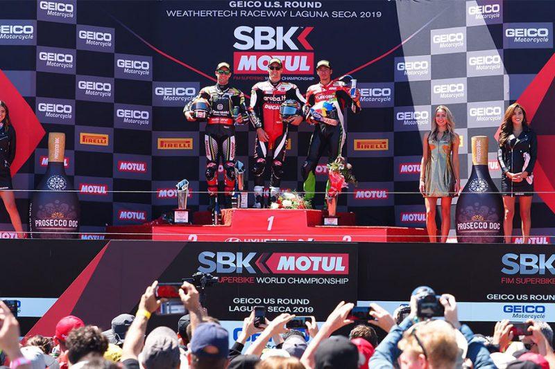 แชซ เดวีส คว้าอันดับที่ 1 ในการแข่งขัน MOTUL FIM Superbike World Championship