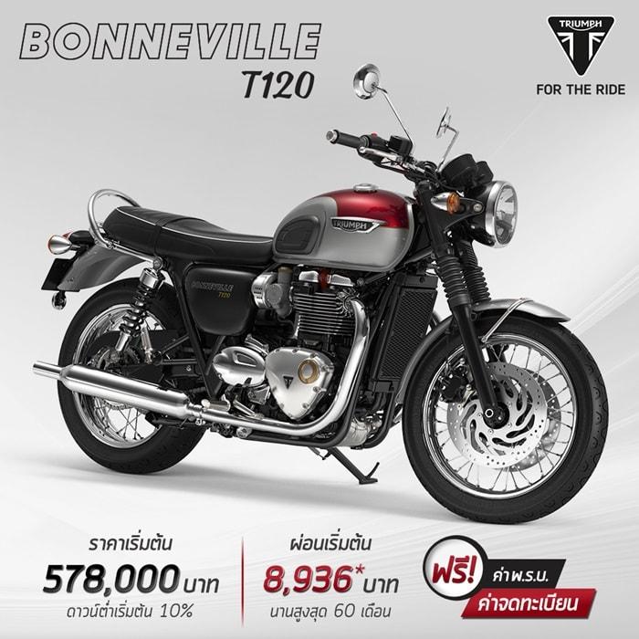 โปรโมชั่นสำหรับรุ่น Bonneville T120