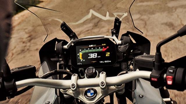 BMW R 1250 GS Adventure ปี 2019 Limited Edition หน้าจอแสดงผล