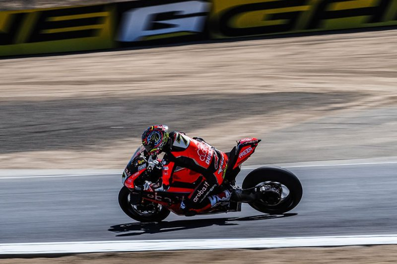 Chaz Davies หมายเลข 7 (ARUBA.IT Racing - Ducati)