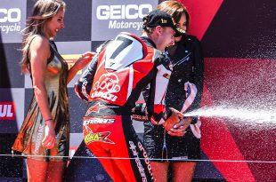 Chaz Davies ทีม Ducati คว้าชัยชนะครั้งแรก ในฤดูกาล 2019