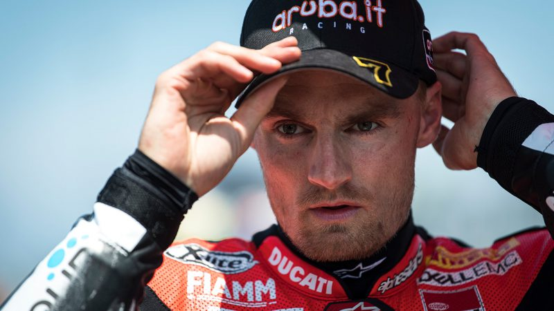 Chaz Davies ทีม Ducati (ARUBA.IT Racing - Ducati)