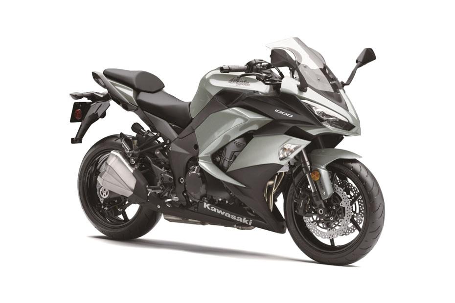 อัพเดทสีใหม่ Kawasaki Ninja 1000 สีเงิน Metallic Matte ใหม่