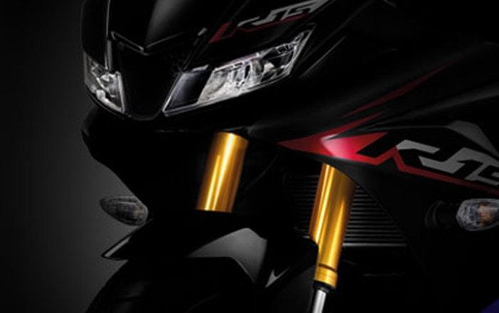 Yamaha YZF-R15 2019 ระบบกันสะเทือนหน้าแบบโช้คหัวกลับ