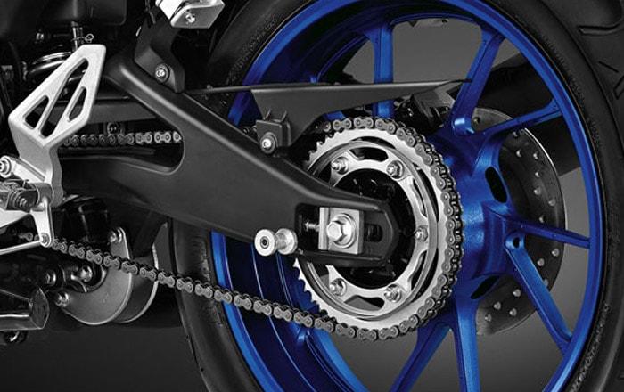 Yamaha YZF-R15 2019 สวิงอาร์มอะลูมิเนียมดีไซน์ใหม่