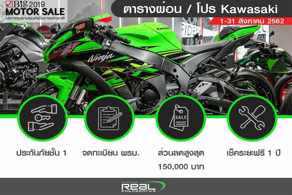 โปรโมชั่นล่าสุด Kawasaki W Series