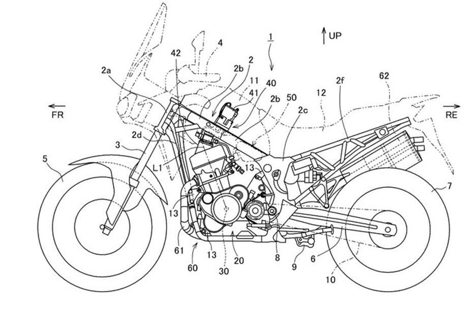 Honda เตรียมผ่าตัด  Africa Twin ติดตั้งระบบหัวฉีดน้ำมันเชื้อเพลิงแบบ Direct injection
