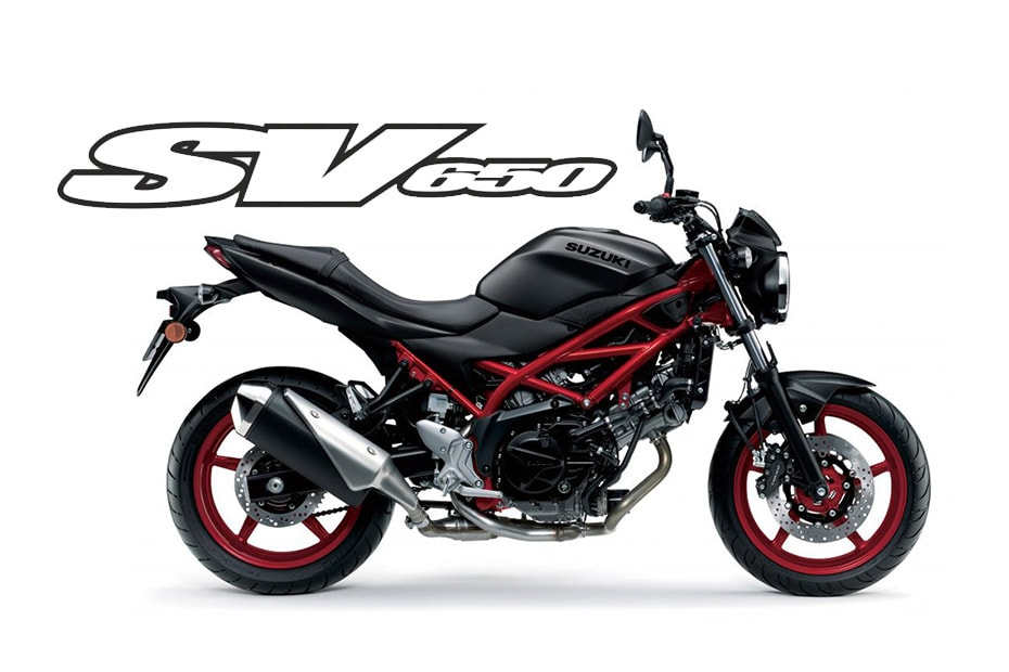 Suzuki เผยสีใหม่ SV650
