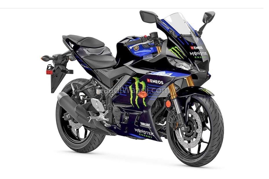 Yamaha YZF-R3 2020 เวอร์ชั่น Monster Energy MotoGP Edition
