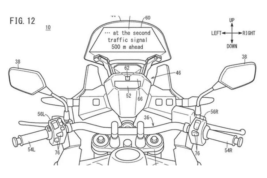 เผยสิทธิบัตร Honda กับหน้าปัดเรือนไมล์ใหม่แบบโฮโลแกรม