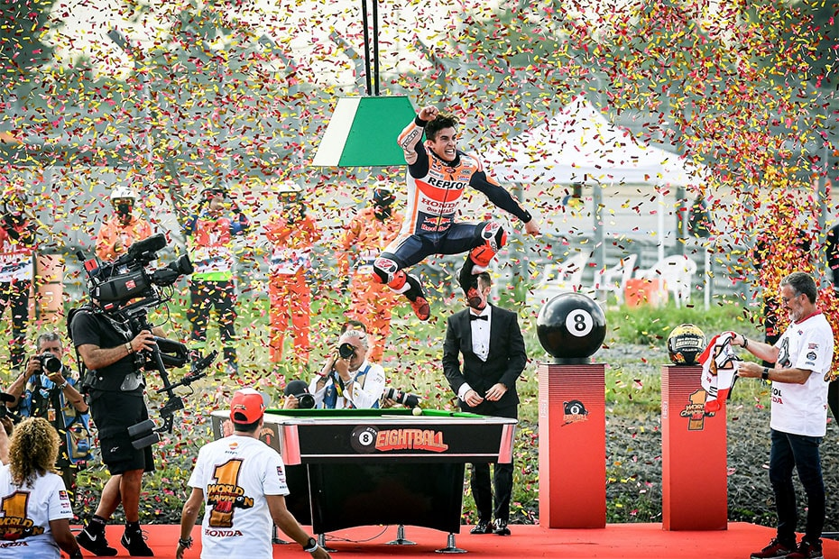 Marc Marquez คว้าแชมป์โลก