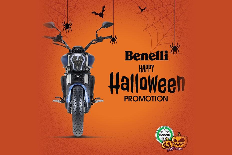 New Benelli Promotion ต้อนรับวัน Halloween ประจำเดือนตุลาคม 2562