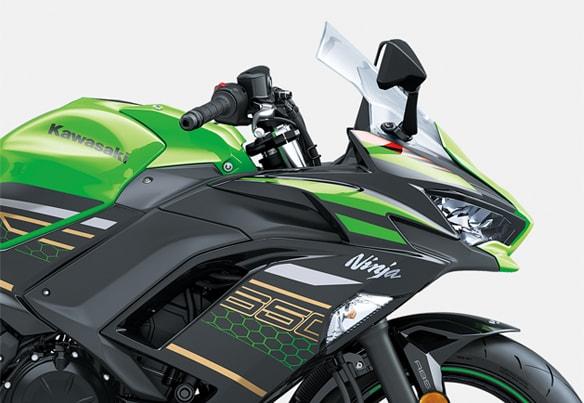 All New Kawasaki Ninja 650 2020 ลวดลายใหม่