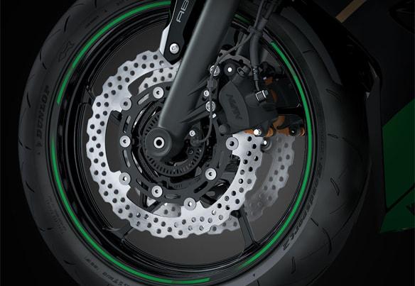 All New Kawasaki Ninja 650 2020 ล้อรถ