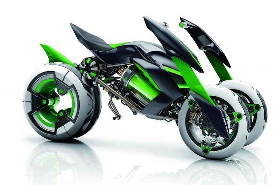 Kawasaki เผย Concept J จักรยานยนต์สี่ล้อพลังงานไฟฟ้าแห่งอนาคต อยู่ในระหว่างการพัฒนา อาจจะมาช้า แต่มาชัวร์