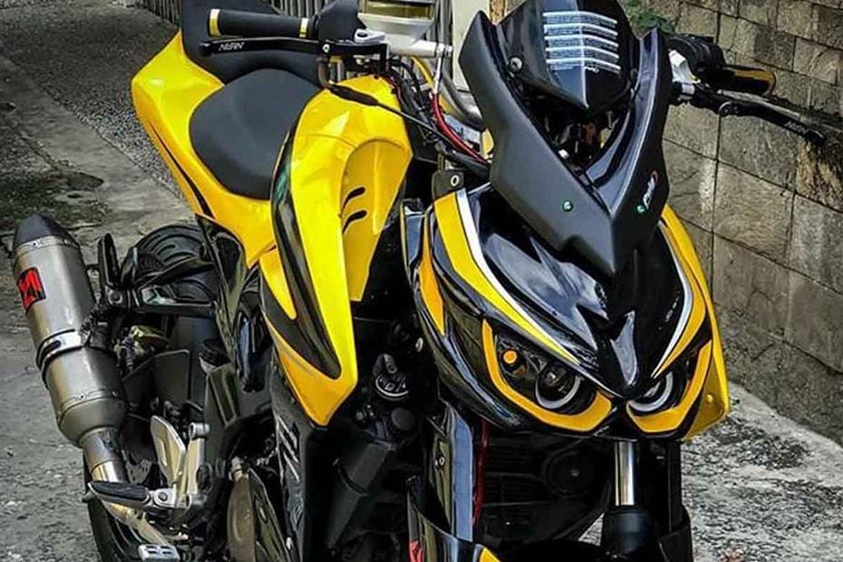 แปลงโฉม Bajaj Pulsar NS 200 ใหม่ให้คล้ายบิ๊กไบค์ Kawasaki Z1000