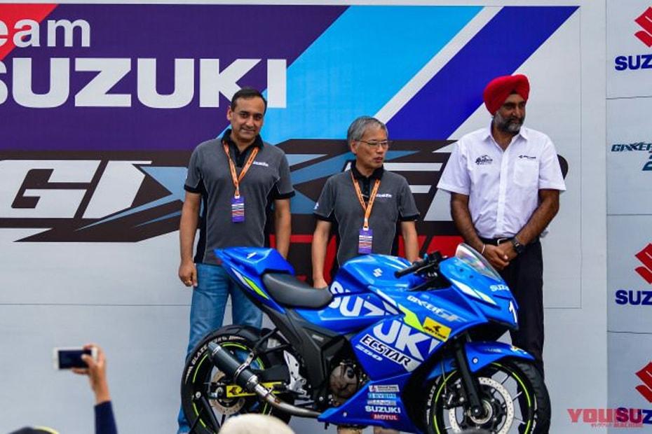 เปิดตัว Suzuki Gixxer SF250 เวอร์ชั่น MotoGP edition ที่ประเทศอินเดีย