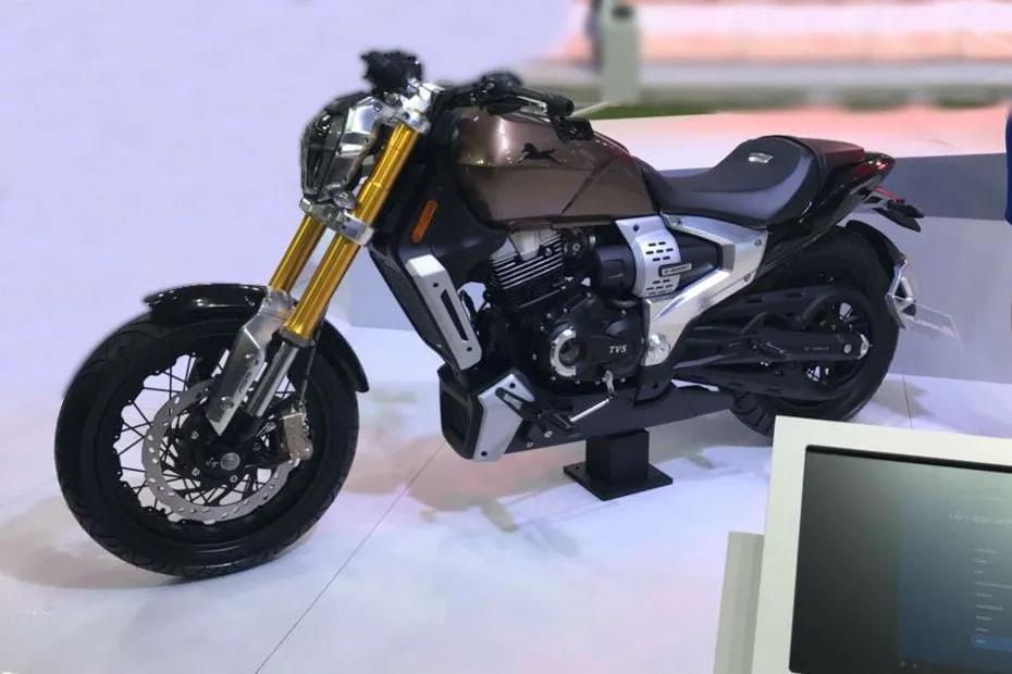 เตรียมเปิดตัว TVS Zeppelin แนวคิดจักรยานยนต์พลังงานใหม่ช่วงต้นปี 2020