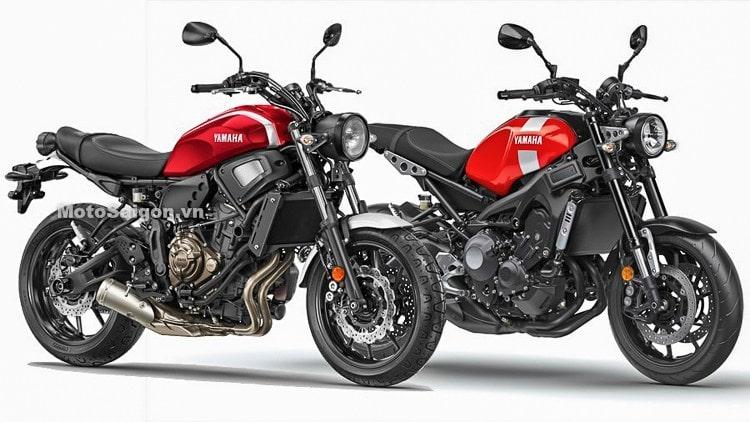 XSR300 และ XSR900