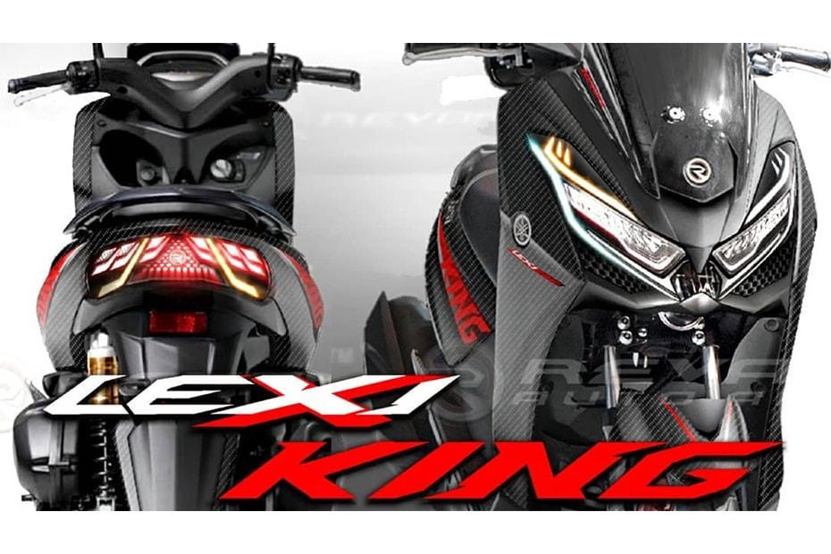 เผยภาพ Yamaha Lexi King 125cc คาดเป็นสกูตเตอร์รุ่นใหม่