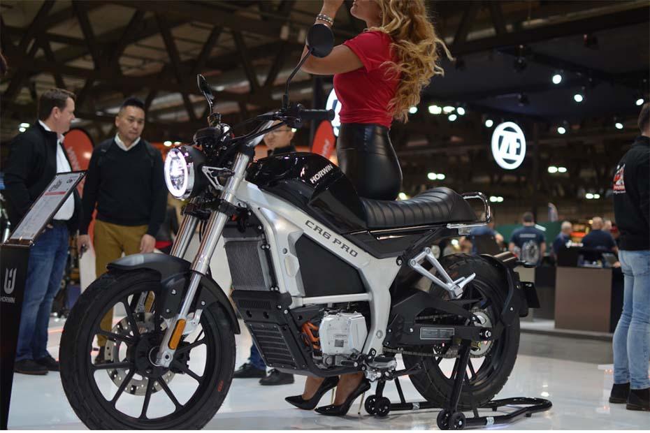 มอเตอร์ไซค์ไฟฟ้า Horwin CR6 และ CR6 Pro เผยโฉมแล้วที่งาน Milan Motorcycle Show 2019