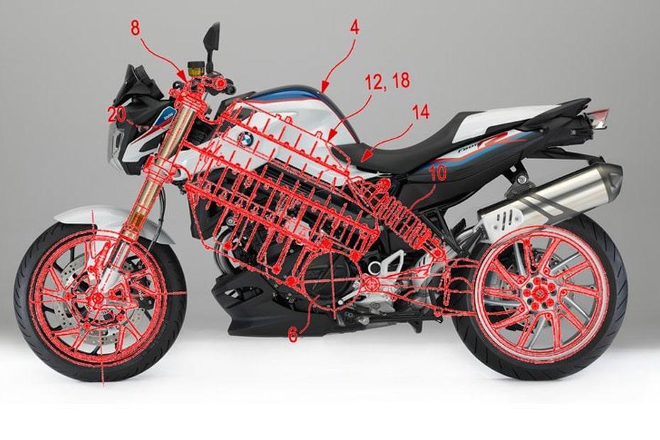 เผยสิทธิบัตร BMW จักรยานยนต์พลังงานไฟฟ้าคันใหม่ ประสิทธิภาพเทียบเท่า BMW F800R