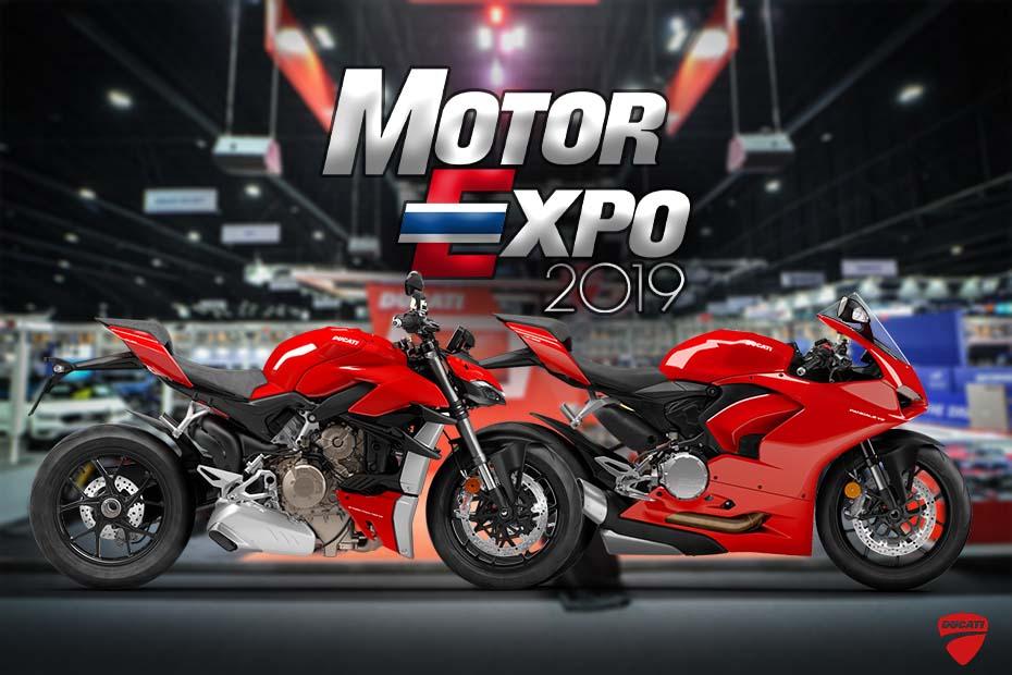 เผยโฉม Ducati StreetFighter V4 และ Panigale V2 ในประเทศไทยอย่างเป็นทางการ ที่งาน Motor Expo 2019
