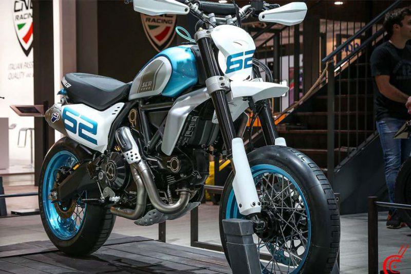 Ducati เผยโฉม Scrambler concepts DESERT X และ MOTARD